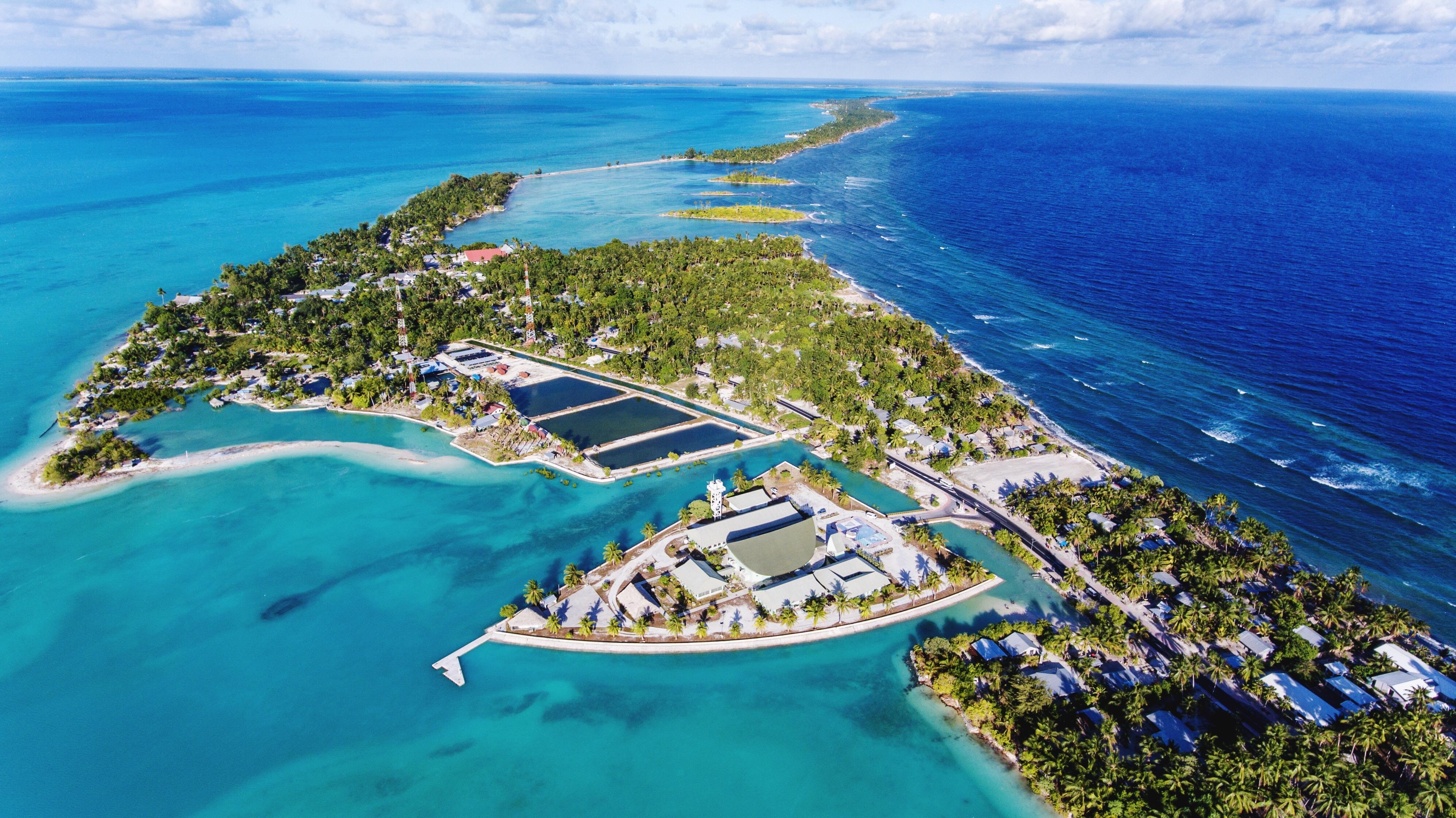 El primer país en desaparecer por crisis climática: Kiribati