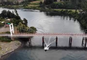 La historia tras el Puente Eduardo Frei Montalva, un símbolo de Carahue