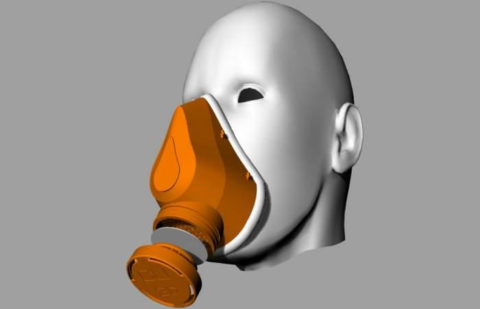 Chilenos crean mascarilla reutilizable para imprimir en 3D