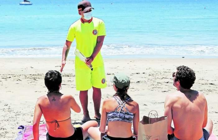 La app que permite denunciar faltas de medidas sanitarias en las playas