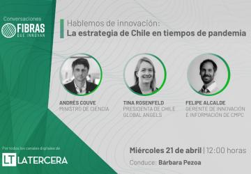 Conversatorio: La innovación y la estrategia de Chile en tiempos de pandemia