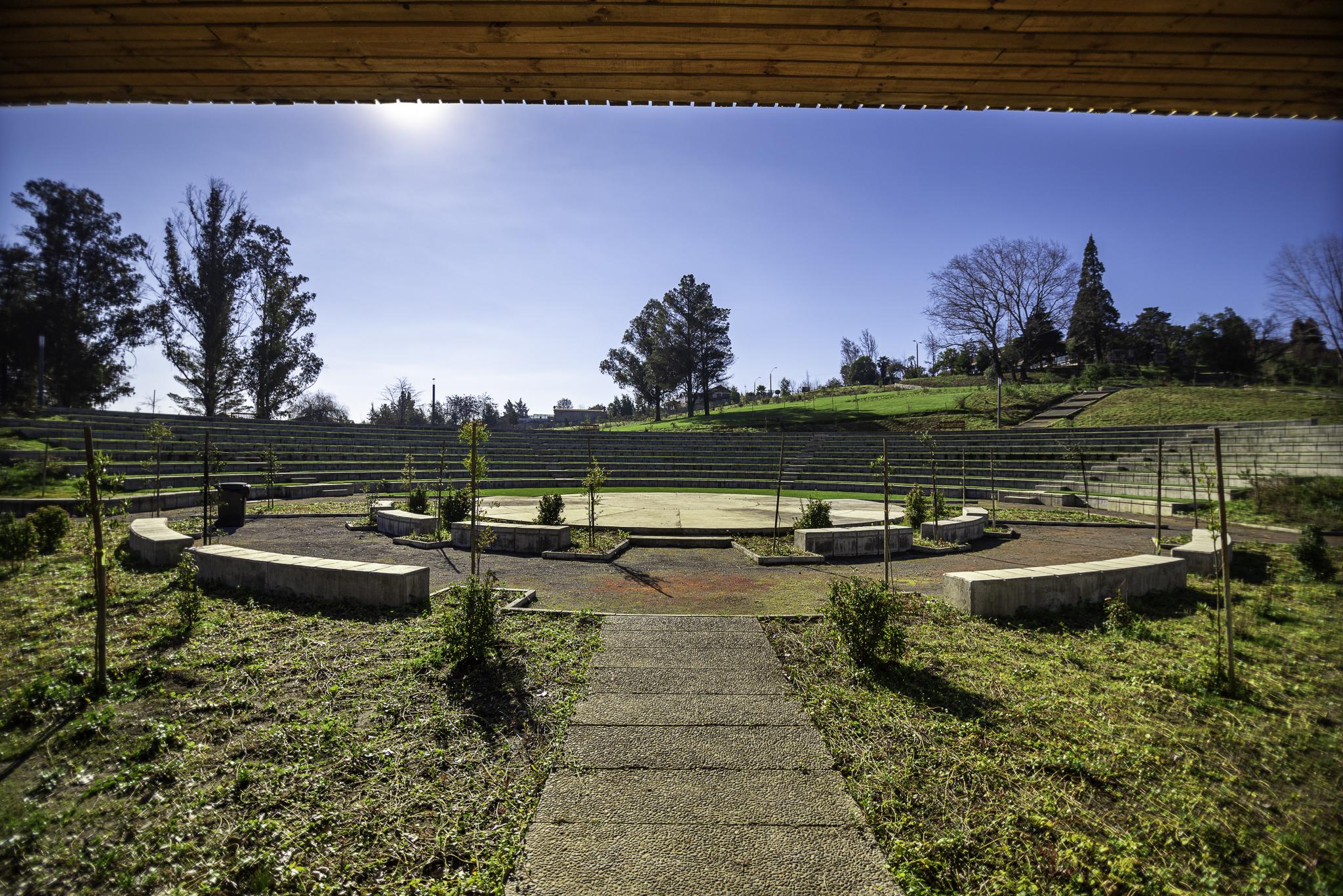 Casi cinco hectáreas y un anfitreatro para 1.500 personas: Nacimiento inaugura su nuevo pulmón verde